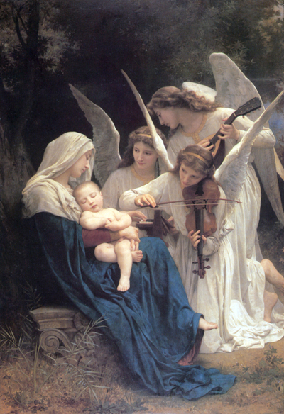 """Song of the Angels"" – William-Adolphe Bouguereau"